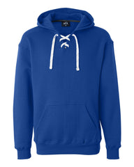 "Sport Lace Hooded Sweatshirt ""Hockey"""