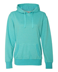 Women's Glitter French Terry Hooded Pullover-F