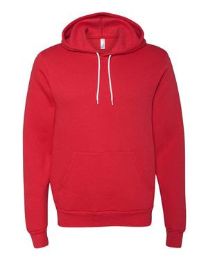 Unisex Poly/Cotton Hooded Pullover Sweatshirt-sc