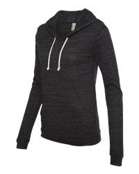 Ladies' Eco-Jersey Athletic Hooded Pullover Tee -YLGA