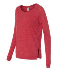 Women's Eco Jersey Locker Room Pullover