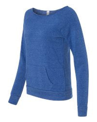 Ladies Maniac Eco-Fleece slouchy Sweatshirt-SMLL CUBS