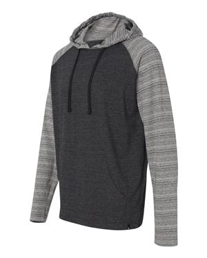 Yarn-Dyed Raglan Hooded Pullover