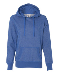 Women's Glitter French Terry Hooded Pullover-R