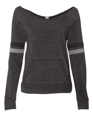 Eco-Fleece Women's Maniac Sport Sweatshirt-Bk