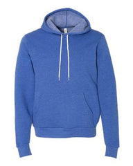 Unisex Poly/Cotton Hooded Pullover Sweatshirt-h