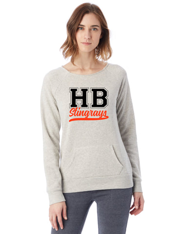 Ladies Maniac Eco-Fleece Sweatshirt-hbs