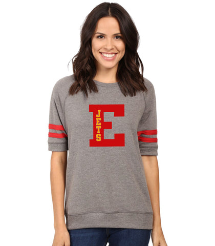 Women's Vintage French Terry Fifty Yardliner Sweatshirt-ej