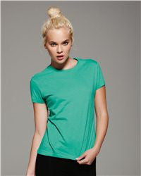 Ladies' Short Sleeve Jersey T-Shirt-ice