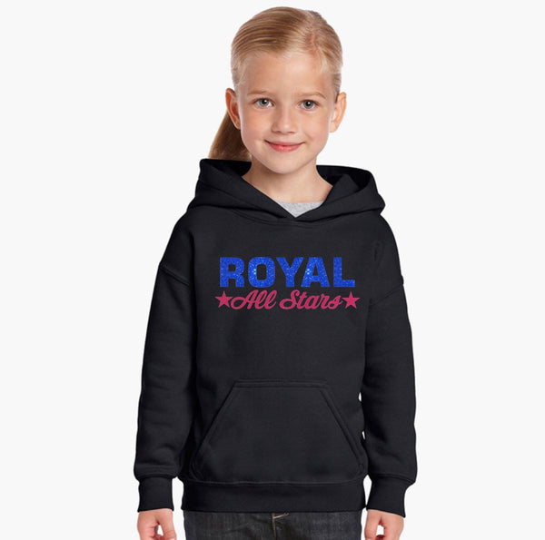 Heavy Blend™ Youth Pullover Hooded Sweatshirt-royal