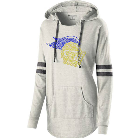 LADIES HOODED LOW KEY PULLOVER-k