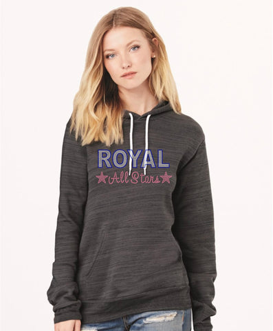 Bella + Canvas - Unisex Hooded Pullover Sweatshirt-royal