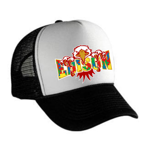 Polyester Foam Front Five Panel Pro Style Mesh Back Trucker Hat