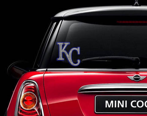 KC Rhinestone Car Decal