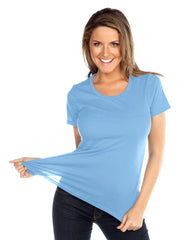 Womens & Juniors Jersey Crew Neck Short sleeve-MP