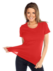 Womens & Juniors Jersey Crew Neck Short sleeve-K