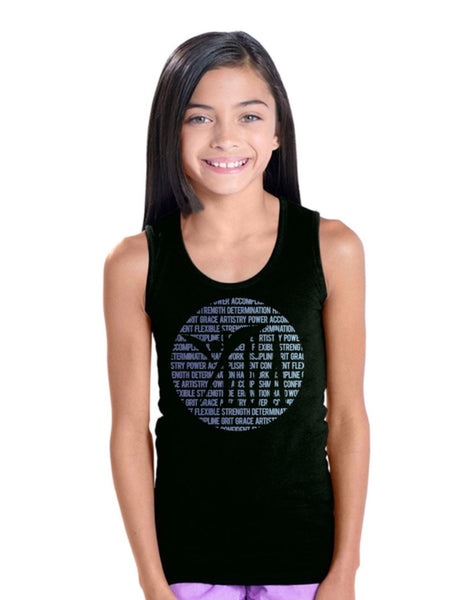 Girls' Fine Jersey Tank Top-ylga