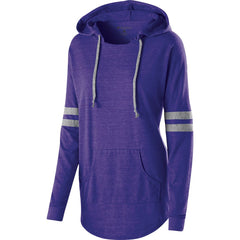 LADIES HOODED LOW KEY PULLOVER-