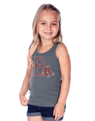 Little Girls Rib Tank-BBy