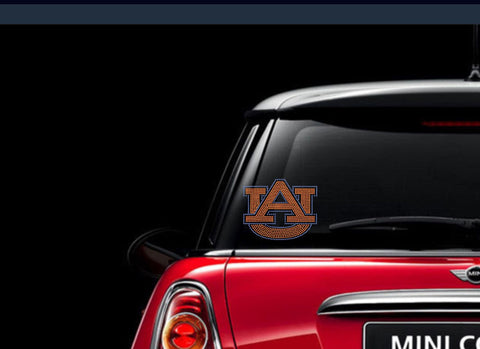 Auburn University Rhinestone Car Decal
