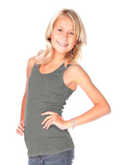 Little Girls Rib Tank-S