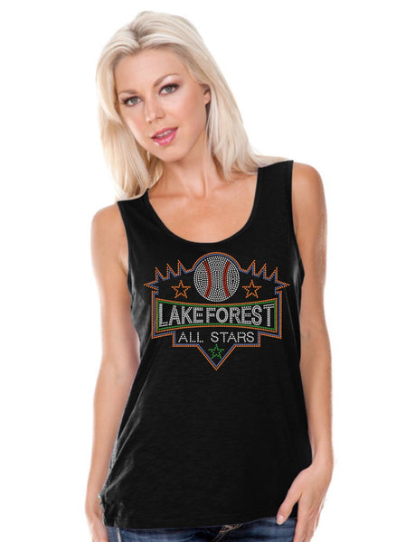 Women Slub Jersey Scoop Neck Tank-LFAS