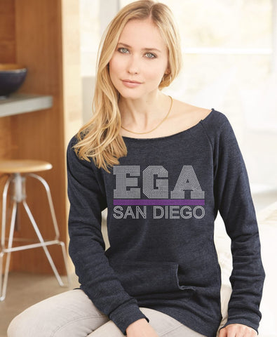 Ladies Maniac Eco-Fleece Sweatshirt-EGA