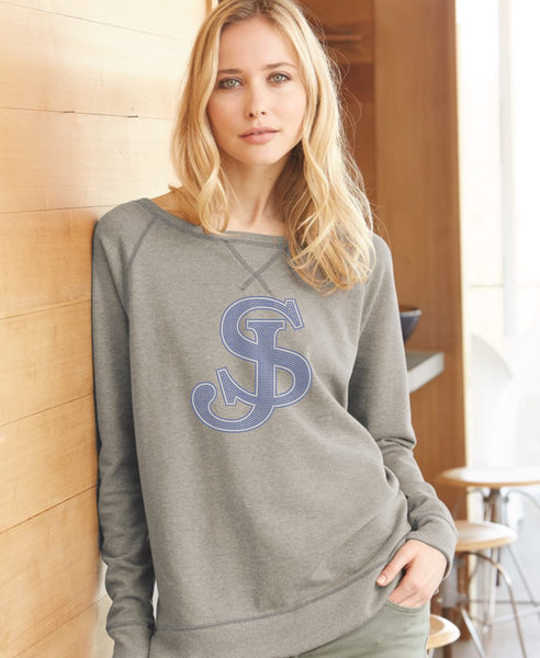 Women's Vintage French Terry Scrimmage Pullover Sweatshirt