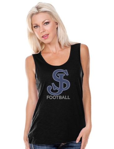 Women Slub Jersey Scoop Neck Tank-sjp