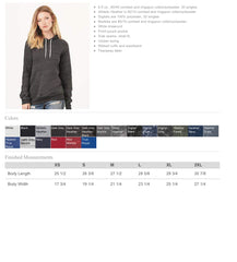 Bella + Canvas - Unisex Hooded Pullover Sweatshirt-peg