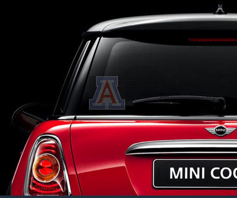Univ of Arizona Rhinestone Car Decal