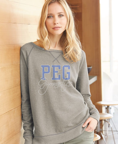 Women's Vintage French Terry Scrimmage Pullover Sweatshirt-peg