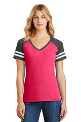 Ladies Game V-Neck Tee-spirit
