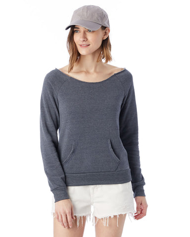 Ladies Maniac Eco-Fleece slouchy Sweatshirt-KNIGHTS