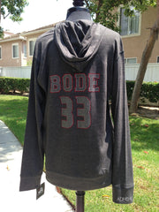 Sport Lace Jersey Hooded Pullover Tee