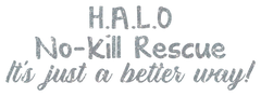 HALO Rescue Rhinestone/Vinyl Decal