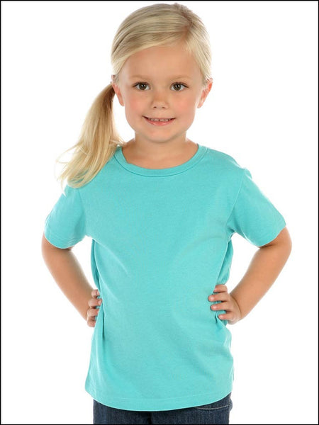Toddlers Crew Neck Short Sleeve Tee Jersey