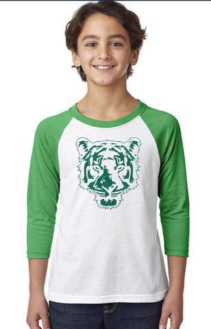 Youth CVC 3/4-Sleeve Raglan-OTSC