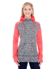 J America Ladies' Colorblock Cosmic Hood