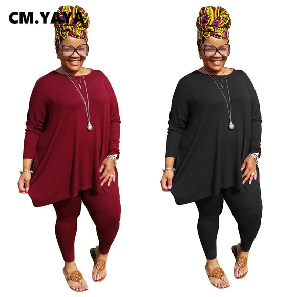 Tee Top Legging Two Piece Set