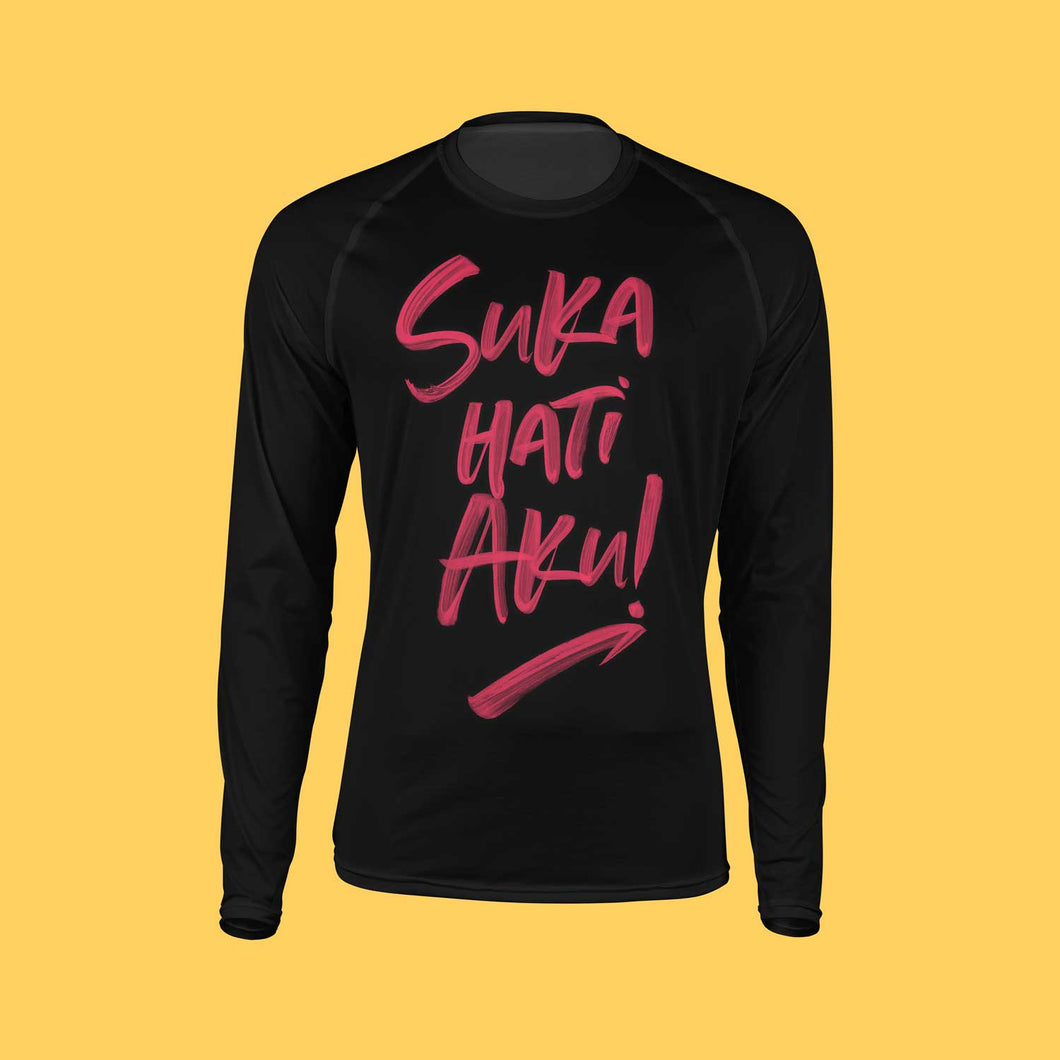 Suka Hati Aku T-Shirt Long Sleeve