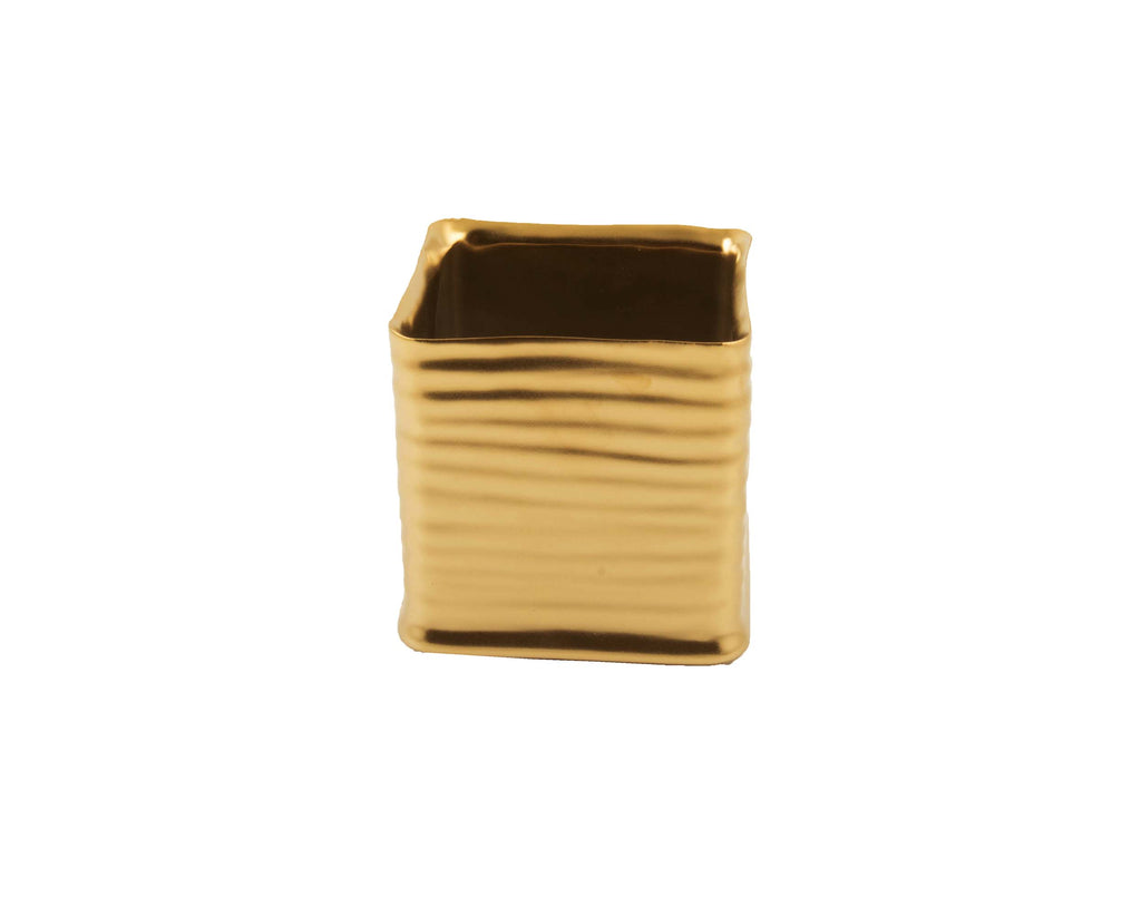 D&M CUBE square pot