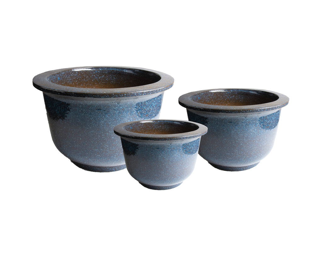 D&M NOBLE pot - set of three