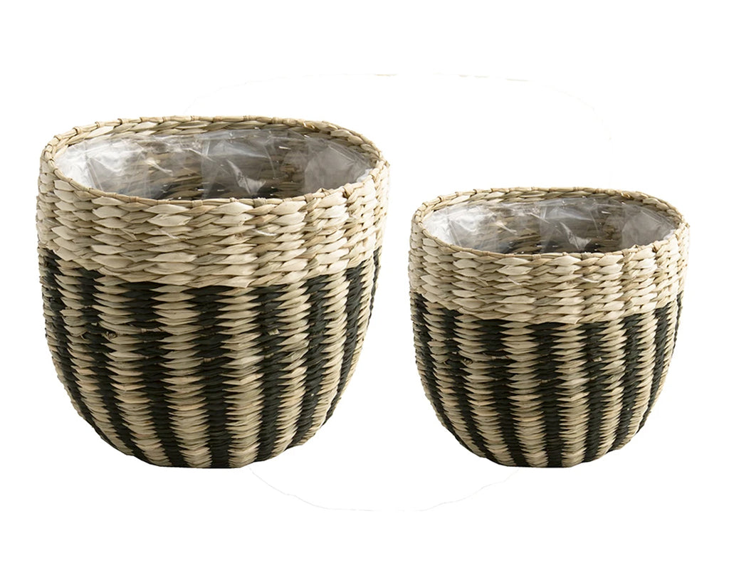D&M ARC basket round - set of two