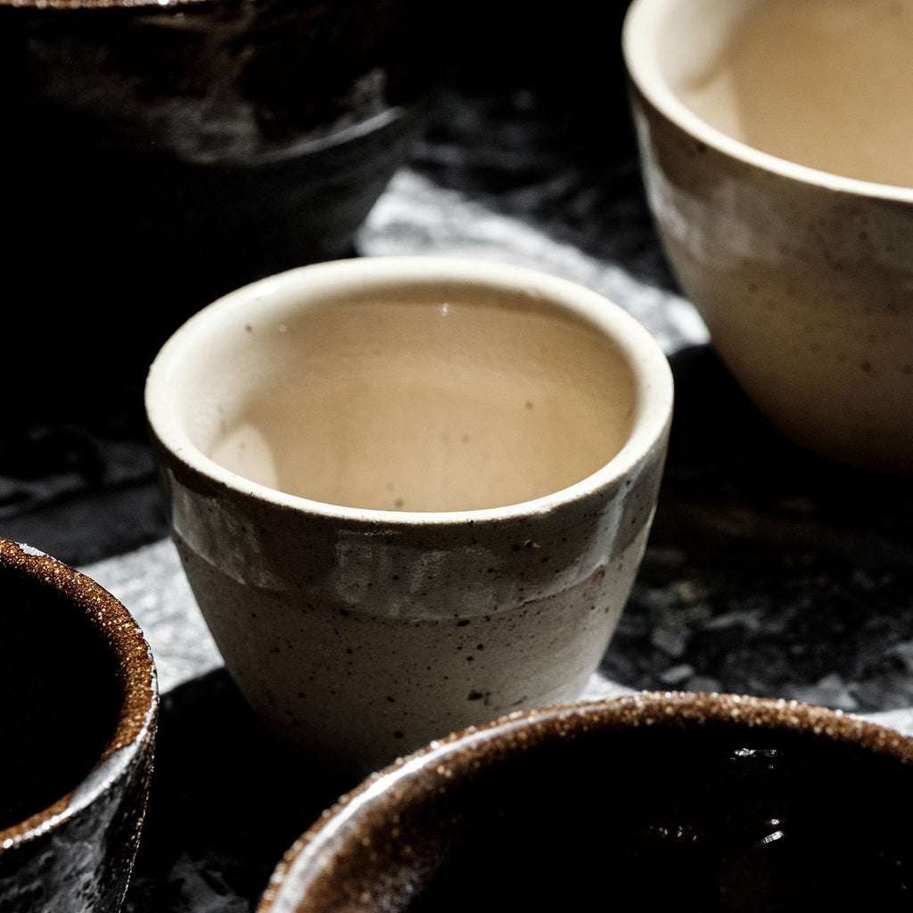 Set of 4 cups diameter 6.5cm - YANN