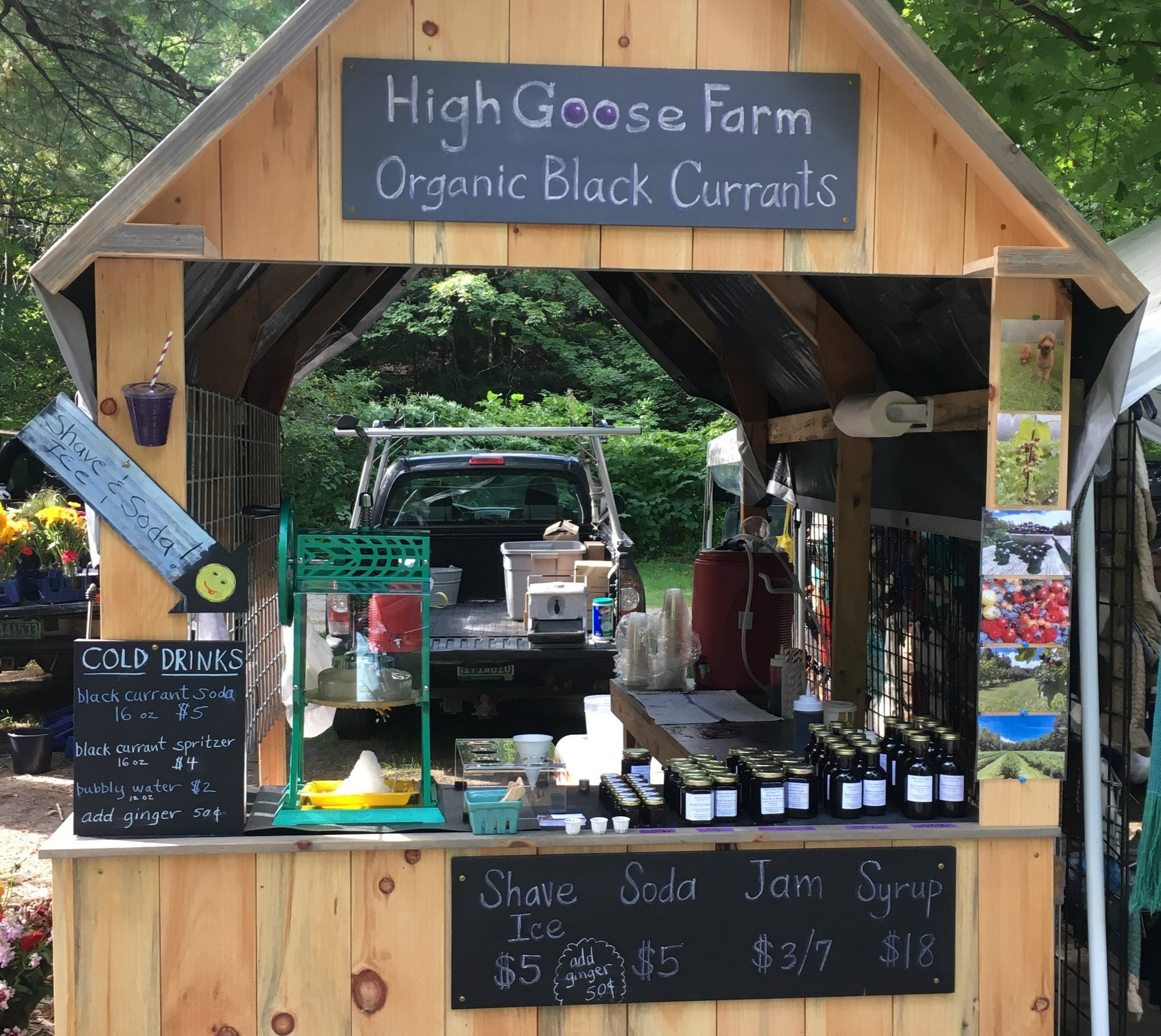 Where to find us Farmers' Markets