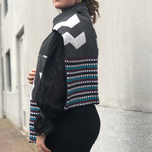 AW2020 Patchwork sjaal