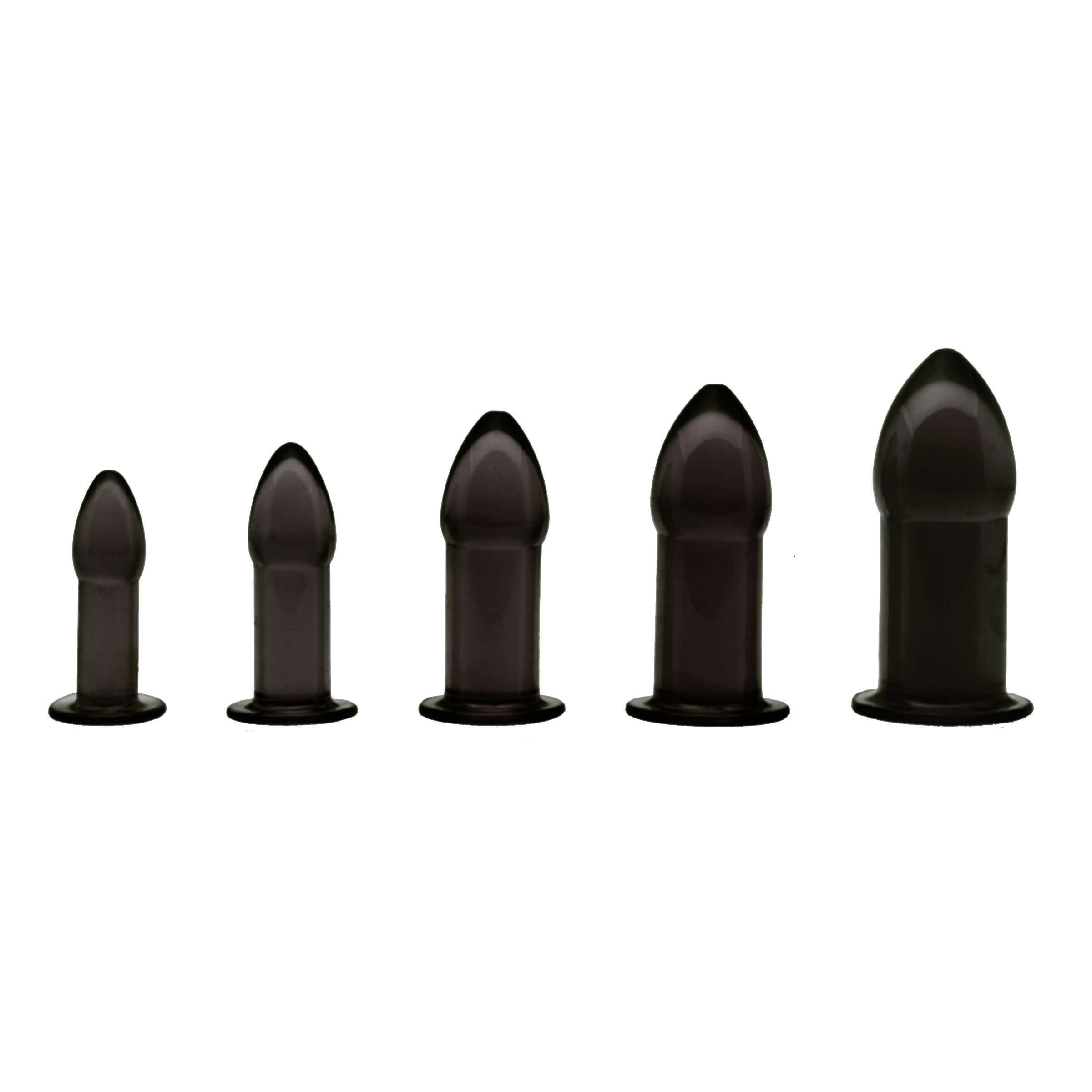 5 Piece Anal Trainer Set - Black