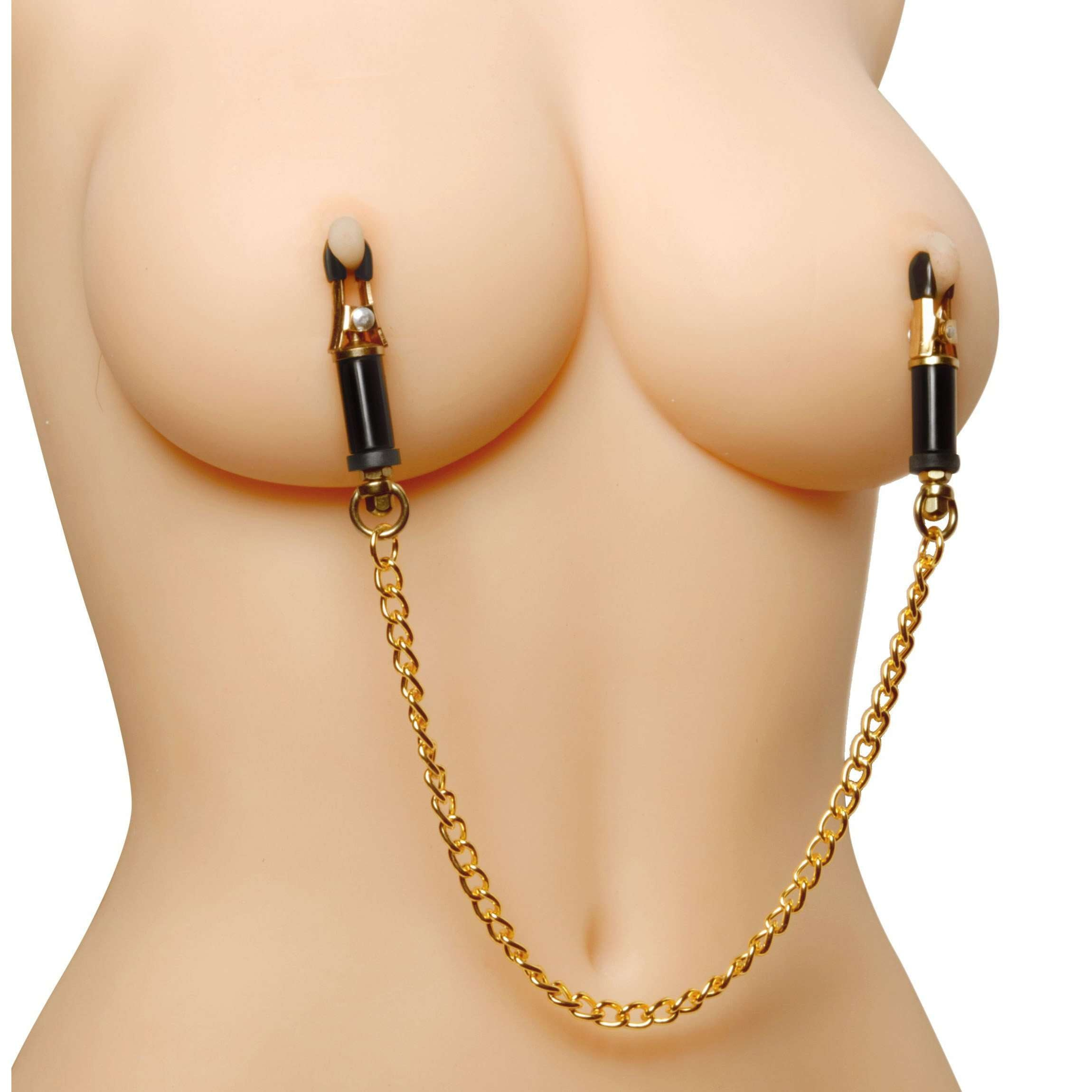 Deluxe Adjustable Nipple Clamps