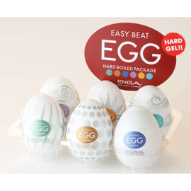 Easy Beat Egg Hard Boiled Masturbator Six Pack